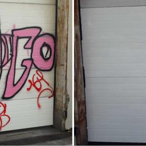 DECAP'EXPRESS - Albi - Enlèvement de graffitis (recouvrement)