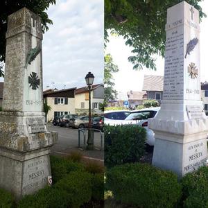 DE Propreté - Messery - Monument